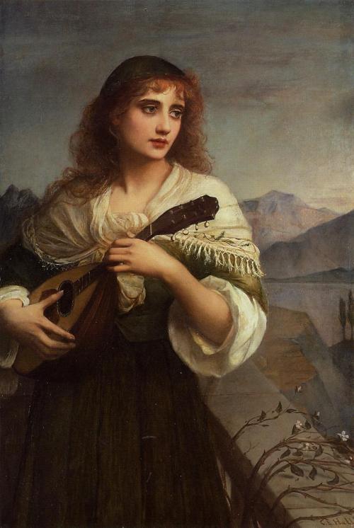 Edward Charles Hallé (1846-1914) (5 картинок)
