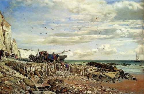 Edward William Cooke (1811-1880) (9 картинок)