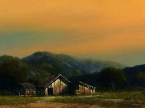 Painting Charles White and Mark Geller. Landscapes of America (19 работ)