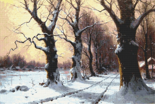 Немецкий художник Вальтер Морас (Walter Moras) (55 работ)
