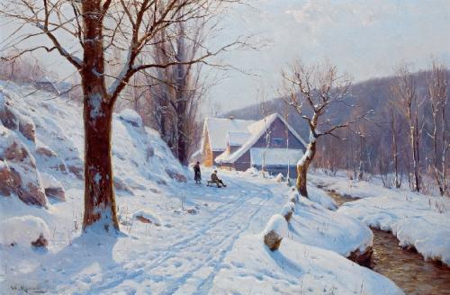 Немецкий художник Вальтер Морас (Walter Moras) (55 картинок)