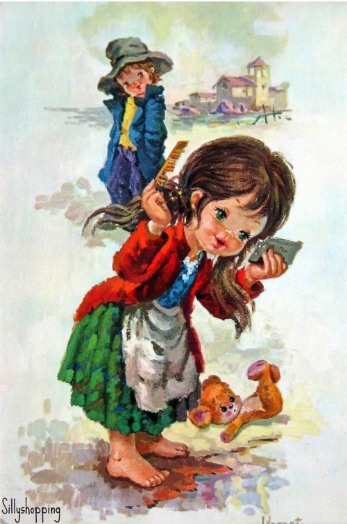 Художник открыток L.Vernet