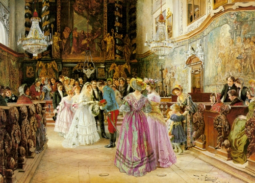 Художник Johann Hamza (1850-1927) (41 картинок)