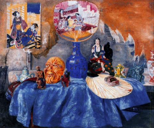 ДЖЕЙМС ЭНСОР (James Ensor)(1860-1949) (68 картинок)