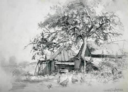 Художник Андрей Первухин (36 картинок)