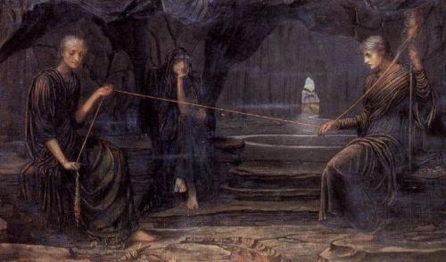 Английский художник-прерафаэлит John Melhuish Strudwick (48 работ)