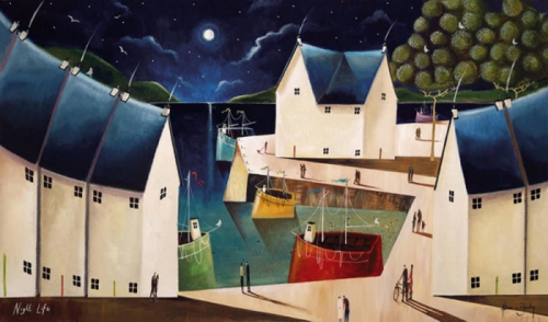 Adam Barsby. Britain's Fine Art (9 картинок)