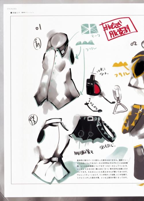 "Artbook ""Vocaloid - Unnofficial illustrashions"" (32 картинки)"