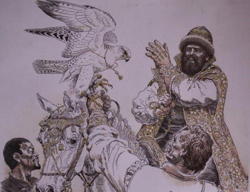 Художник-анималист Горбатов Вадим Алексеевич (166 картинок)