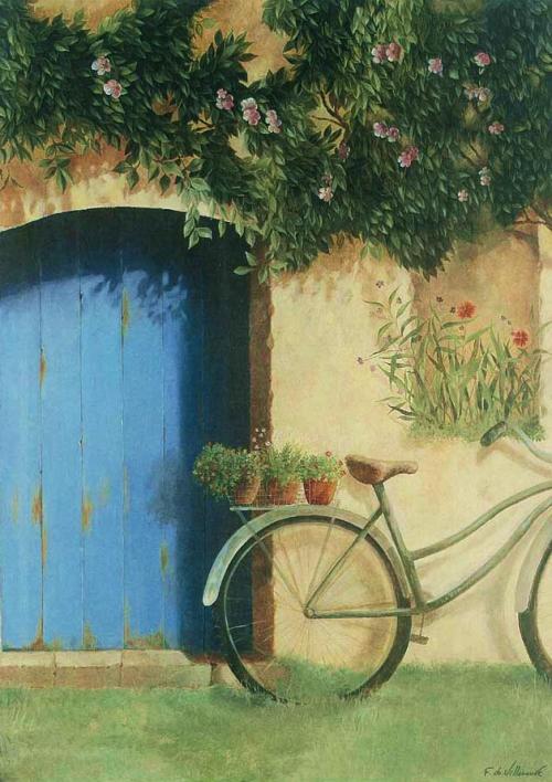 Творчество Fabrice de Villeneuve (94 картинок)