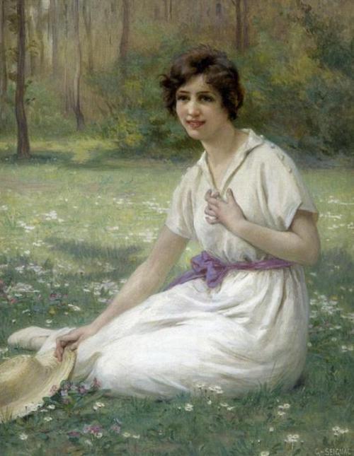 Французский художник Guillaume Seignac (1870-1924) (73 работ)