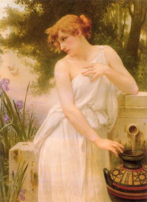 Французский художник Guillaume Seignac (1870-1924) (73 картинок)