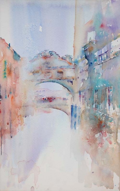 Акварели художника Jean Haines (135 картинок)