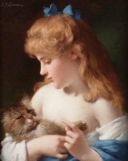 Французский художник Jules Frederic Ballavoine (1855-1901) (50 работ)