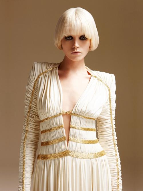 Abbey Lee Kershaw – Atelier Versace S/S 2011 LookBook (32 картинок)