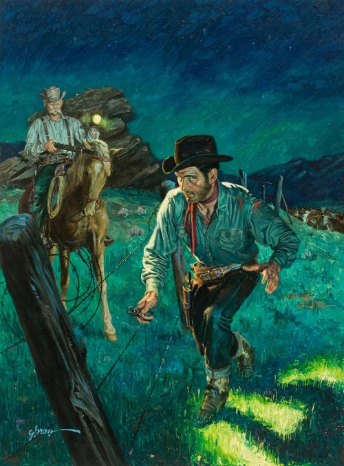 Artworks by George Gross (21 картинок)
