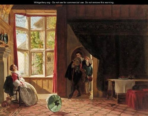 Английский художник John Callcott Horsley (1817-1903) (60 картинок)