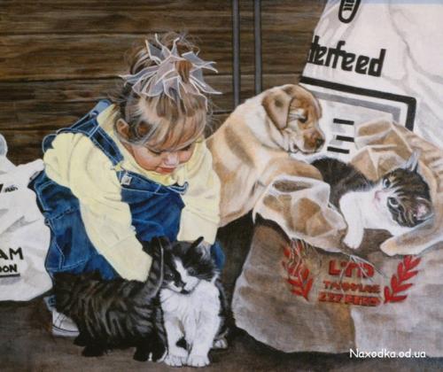 Illustrator Lorella Flamini (66 картинок)