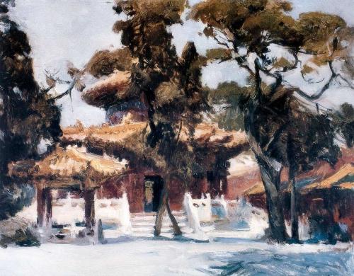 Китайский художник Zang Wenxin