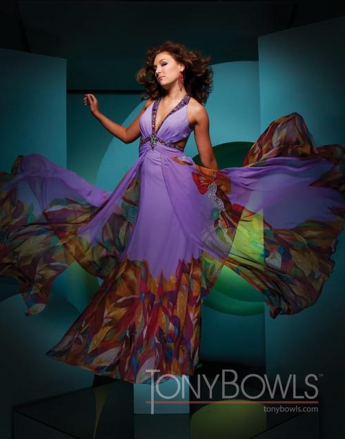 Вечерние платья Tony Bowls - часть 4 (49 картинок)