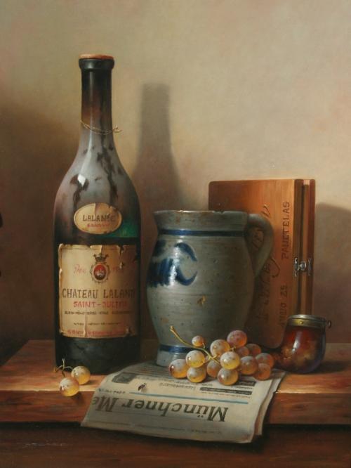 Натюрморты Zoltan Preiner (16 картинок)