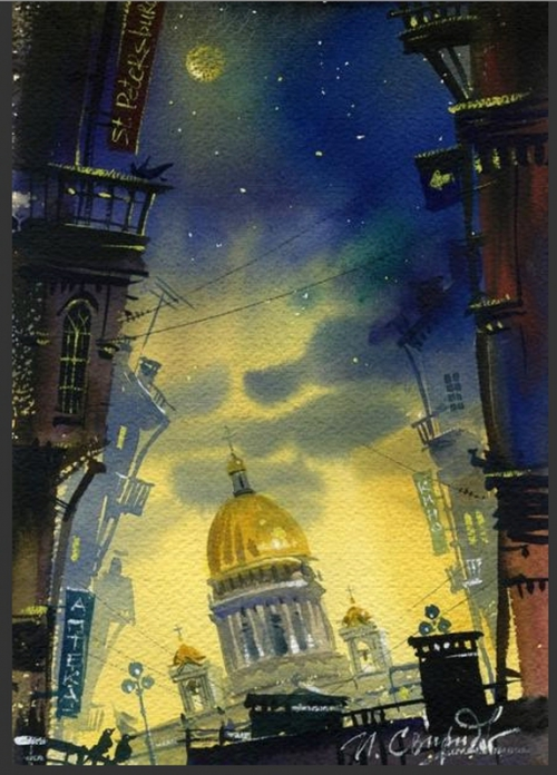 Петербургские феерии Ивана Свиридова (35 работ)