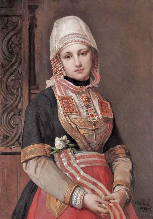 Jean Francois Portaels (1818-1895) (38 работ)