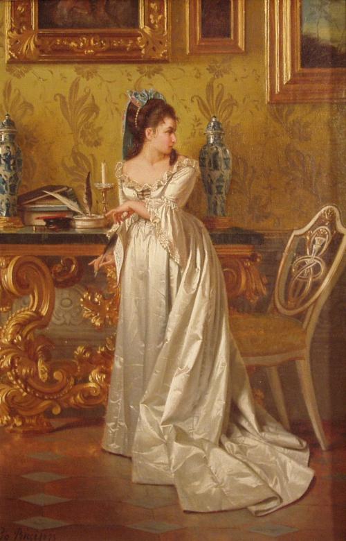 Итальянский художник Pio Ricci (1850-1919) (33 работ)