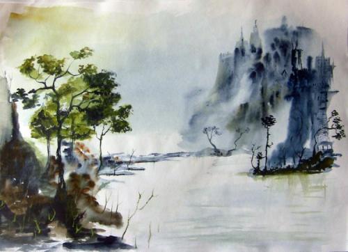 Акварели Виталия Доронина (37 картинок)