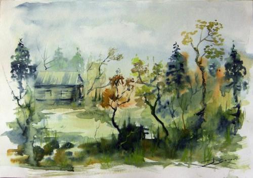 Акварели Виталия Доронина (37 работ)