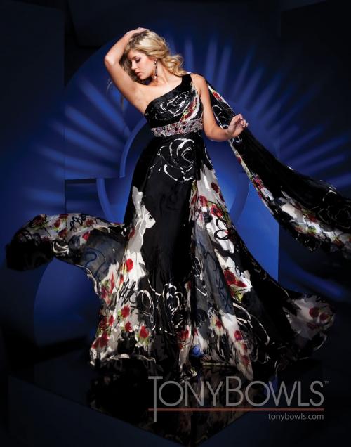 Вечерние платья Tony Bowls - часть 3 (59 фото) (эротика)