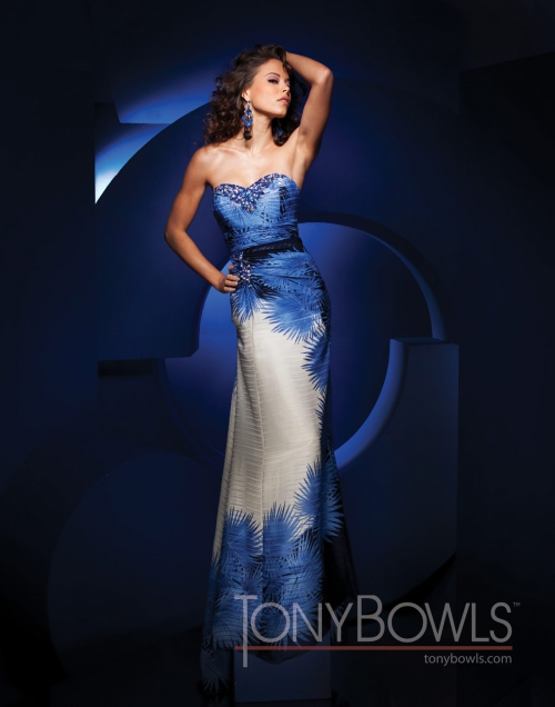 Вечерние платья Tony Bowls - часть 3 (59 картинок)
