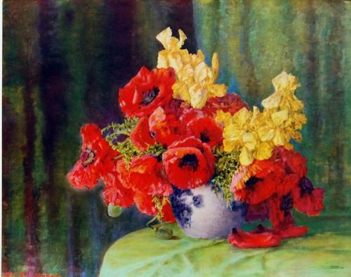 Натюрморты Max Streckenbach (Germany, 1863-1936) (34 работ)