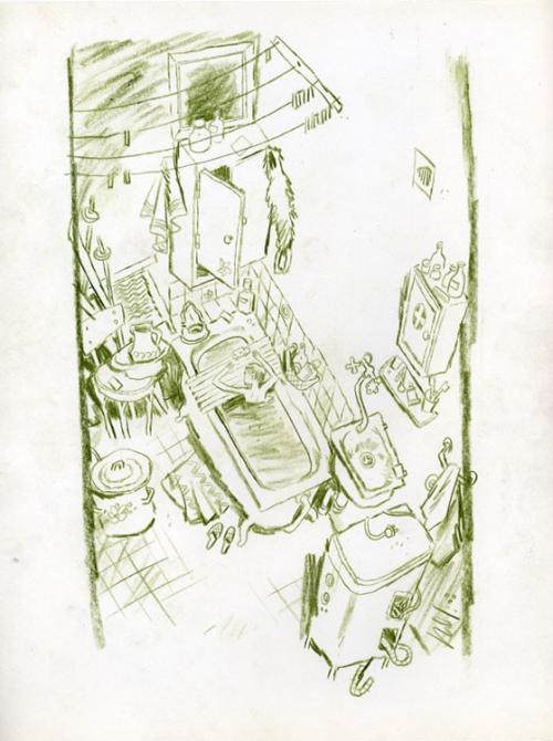 """Коллекция рисунков """"Цветные карандаши"""" - художник Дмитрий Изотов (37 картинок)"""