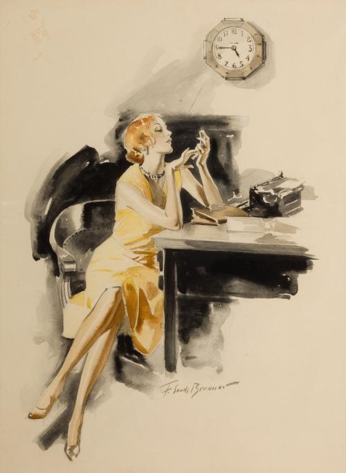 Frederick Sands Brunner (1886 – 1954) (25 работ)