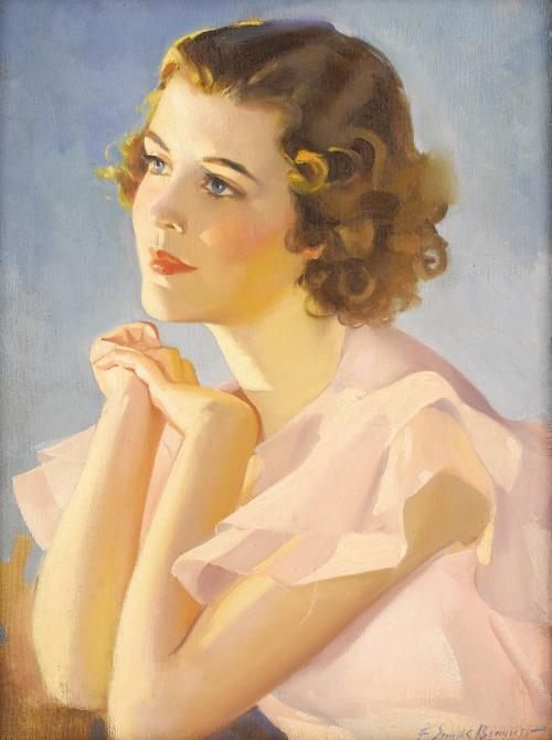 Frederick Sands Brunner (1886 – 1954) (25 картинок)