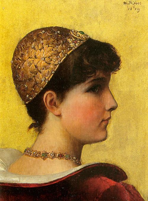 Австрийский художник Moritz Stifter (1857-1905) (45 работ)