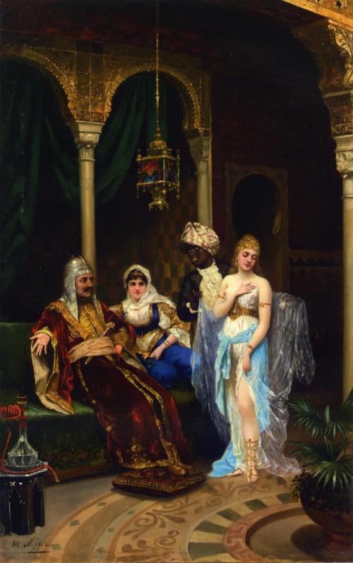 Австрийский художник Moritz Stifter (1857-1905) (45 картинок)
