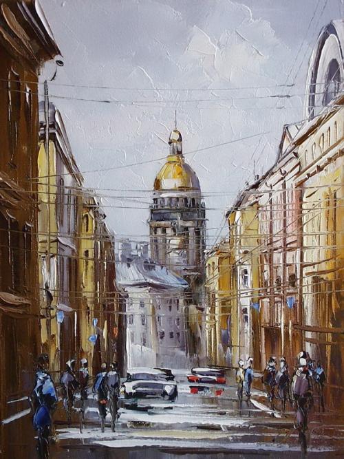 Живопись Хованского Юрия (17 картинок)