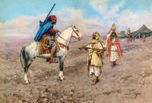 Итальянский художник Giulio Rosati (1858-1917) (64 работ)