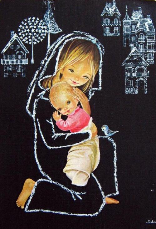 Художник открыток L.Dobon (61 работ)