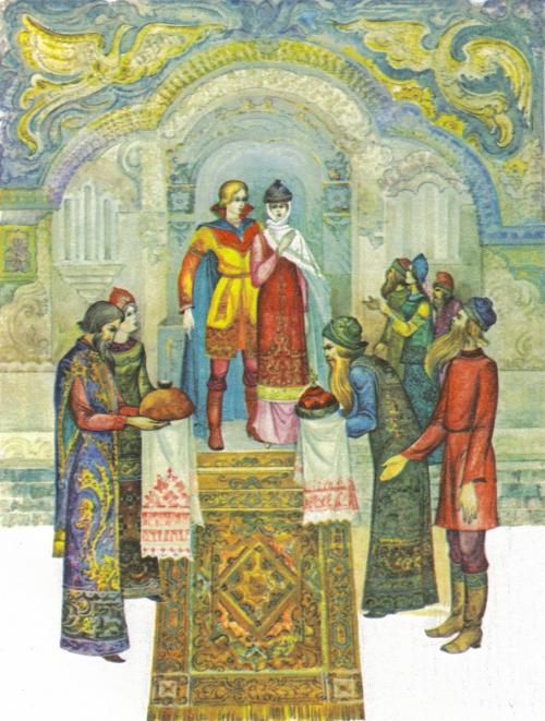 Художник Виктор Лагуна - иллюстрации к сказкам Пушкина (44 картинок)