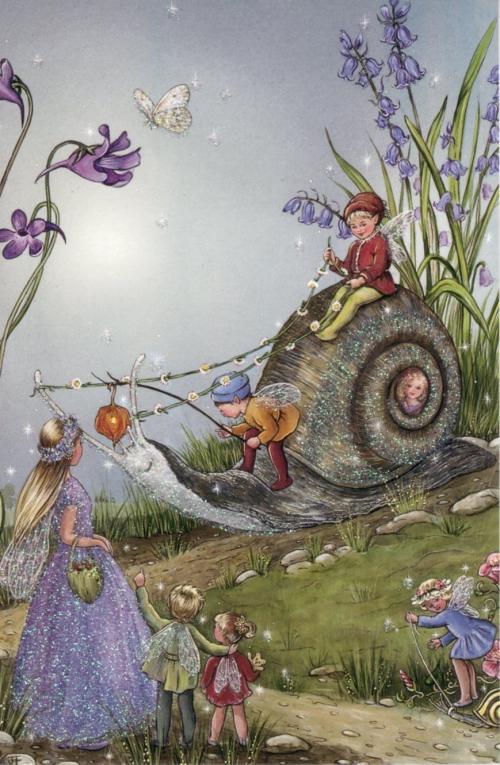 Сказочные иллюстрации Jean and Ron Henry (21 картинок)