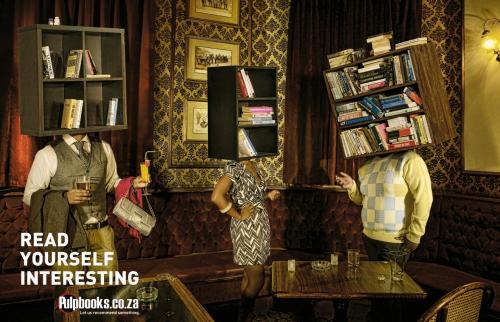 Журнальная реклама. Сборник №52 (50 картинок)