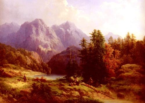Швейцарская живопись | The Swiss painting (57 картинок)