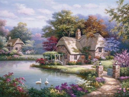 Пейзажи от Sung Kim (48 картинок)