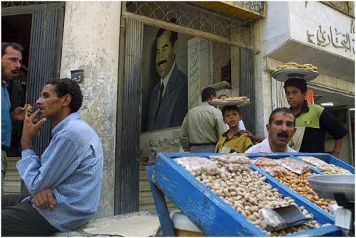 Фотожурналист Сергей Максимишин. Ирак. Саддам и люди (12 картинок)