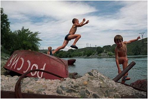 Фотожурналист Сергей Максимишин. Казахстан. Река Иртыш (24 картинок)