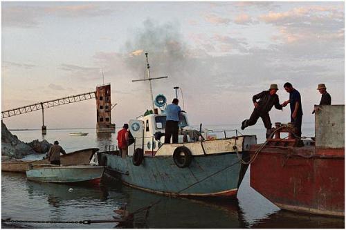 Фотожурналист Сергей Максимишин. Казахстан. Рыбная ловля на озере Зайсан (18 картинок)