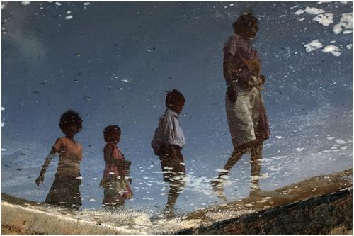 Фотожурналист Сергей Максимишин. Производство соли в Гоа, Индия (11 картинок)